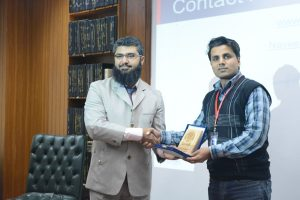 Appreciation in Bahria University