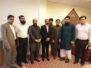 Naveed Ramzan with Ashraf Choudhry