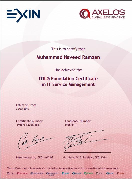 exin-certificate