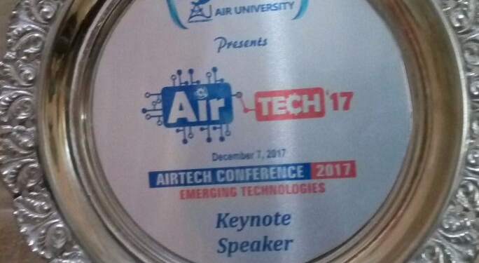 Mentor in AirTech17 at Air University, Islamabad