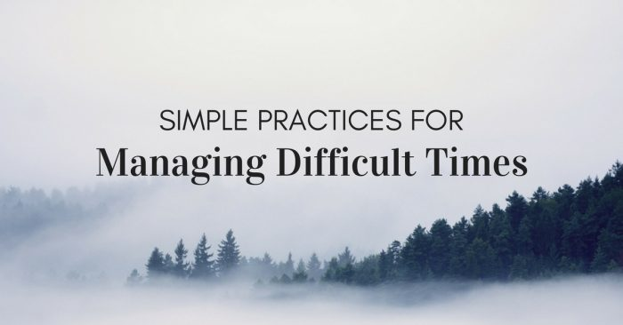 managing-difficult-time